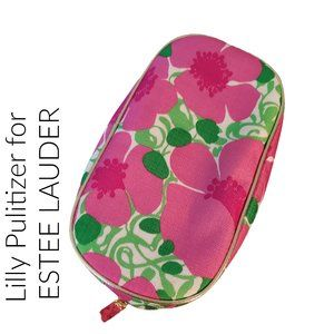 Lilly Pulitzer for estee Lauder makeup bag pouch